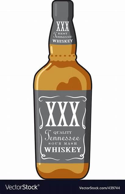 Whiskey Bottle Vector Royalty Vectorstock