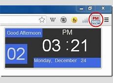 5 Free Clock Extension for Chrome