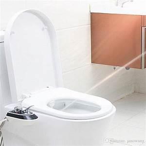 Acquista Nessuna Elettricit U00e0 Smart Toilet Seat Bidet  Bidet Di Lusso Abs Bidet Doccia  Butt E