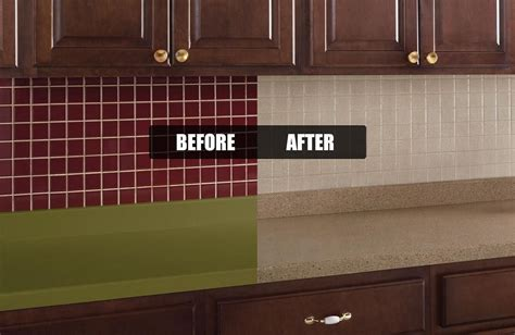 tile transformation kitchen painting transformations hoosier a1 counter painted fixr