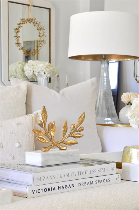 White Living Room Table Ls by Living Room Makeover Reveal By Decor Gold Designs