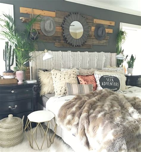 Decorating Ideas For Rustic Glam Bedroom by Boho Glam Rustic Bedroom Creative Home Ideas