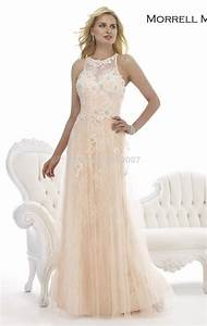 gorgeous custom made scoop lace evening dresses long With formal wedding dresses for mother of the bride