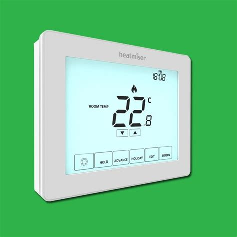 Programmable Touchscreen Room Thermostat – Heatmiser Touch ...