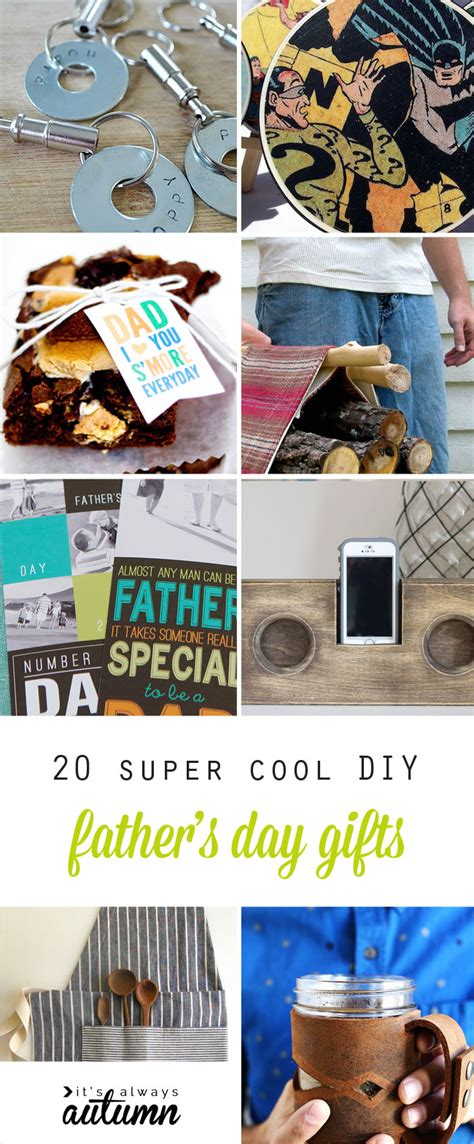 super cool handmade fathers day gifts diy  dad