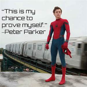 Spider-Man Home... Peter Parker Father Quotes