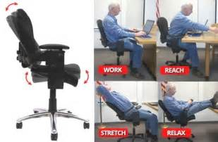 classic where should lumbar support be on office chair