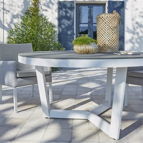 salon de jardin table  chaise mobilier de jardin leroy merlin