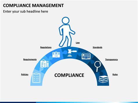 compliance management powerpoint template sketchbubble