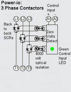 3 phase motor contactor wiring diagram With wiring diagram for 3 phase motor typical connection diagrams three