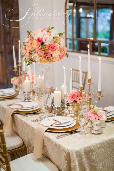 Coral Wedding Table Decorations Ideas Wedding Gallery