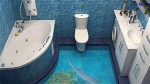 3d Bilder Selber Machen : badezimmer boden 3d wohnideen design dekoration badezimmer spezial youtube ~ Frokenaadalensverden.com Haus und Dekorationen