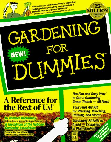 gardening all in one for dummies michael maccaskey author profile news books and speaking inquiries