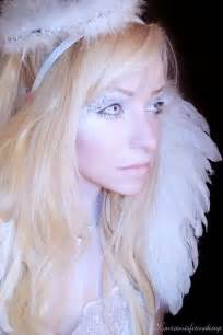 Halloween Angel Costume Makeup