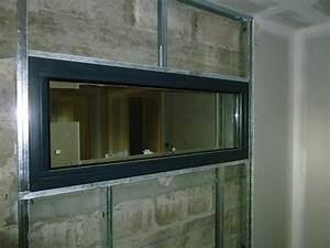 Fenetre fixe pvc fenetre alu 1 vantail dthomas for Porte de garage enroulable et pose vitre porte interieure