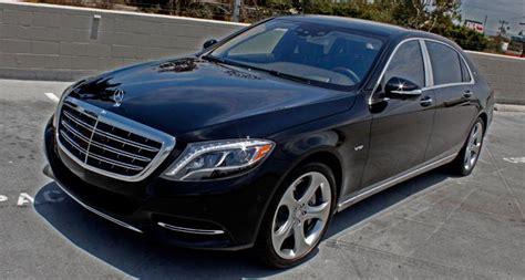 Black Mercedes Maybach S600 Prestige Car Rentals Lax