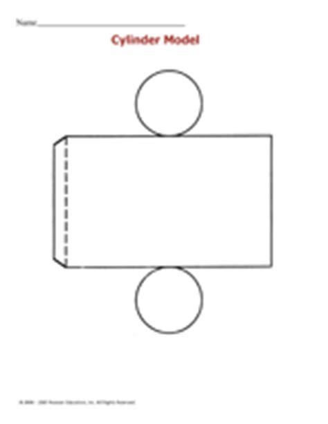 cylinder model printable st  grade