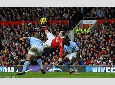 Wayne Rooney, Zlatan Ibrahimovic, Eusebio Overhead kicks