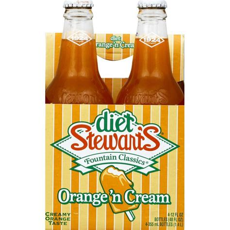 1 this is considered low in potassium, but if you drink several cups of coffee a day it can add up. Diet Stewart's Orange 'n Cream Soda (12 fl oz) from Heinen's - Instacart