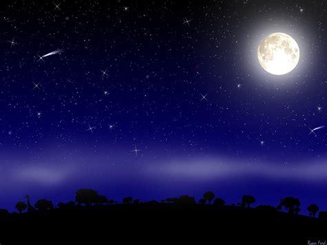 keindahan langit malam cahaya dini hari