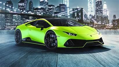 Lamborghini Evo 2021 4k Capsule Huracan Fluo