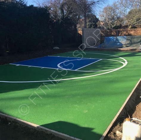 garden basketball court garden residential basketball practice areas design construction fitness sports equipment