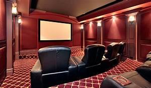Cinema A La Maison : cin ma maison conception et installation sur mesure quadriom son et image ~ Louise-bijoux.com Idées de Décoration