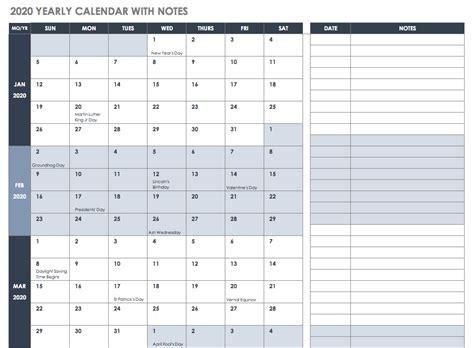 excel calendar templates