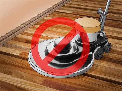 ways  clean polyurethane wood floors wikihow