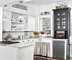10 stylish ideas for decorating above kitchen cabinets With kitchen colors with white cabinets with woven basket wall art