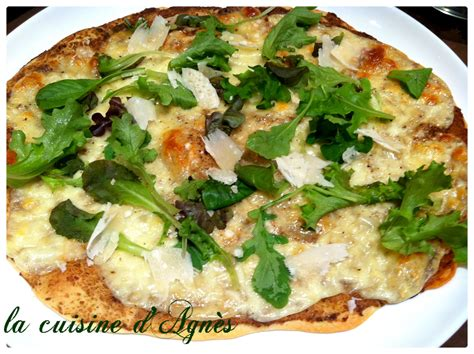 cuisine cepes pizza à la crème aux cèpes la cuisine d 39 agnèsla cuisine