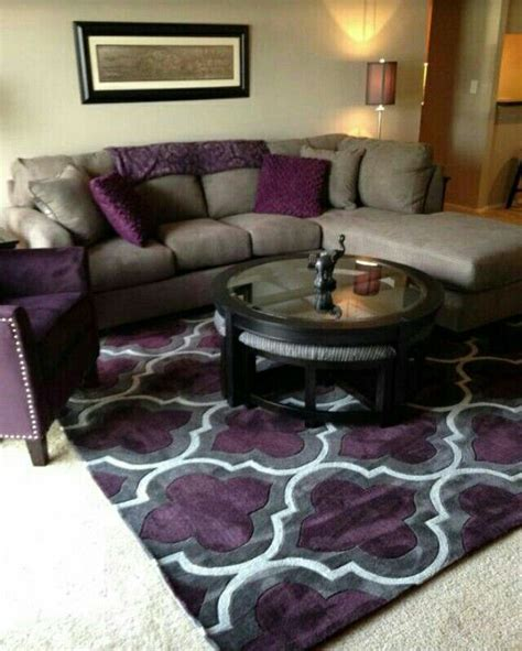 grey and purple living room furniture best 25 purple accents ideas on purple