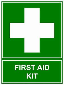 First AID KIT Sign 300 X 225mm Corflute Sign Emergency ...