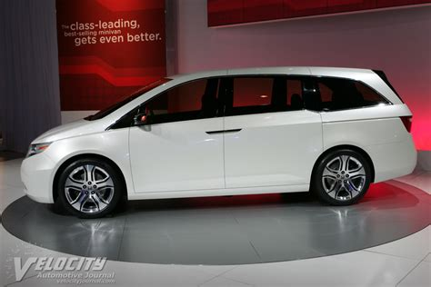 Picture Of 2018 Honda Odyssey Concept