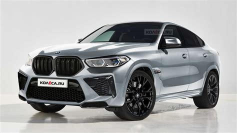 upcoming bmw x6 m gets rendered based on the new x6