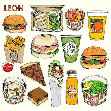 leon product illustration   van millingen food