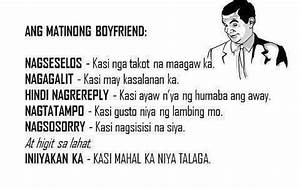 Qualities of Matinong Boyfriend - Patama Quotes ...