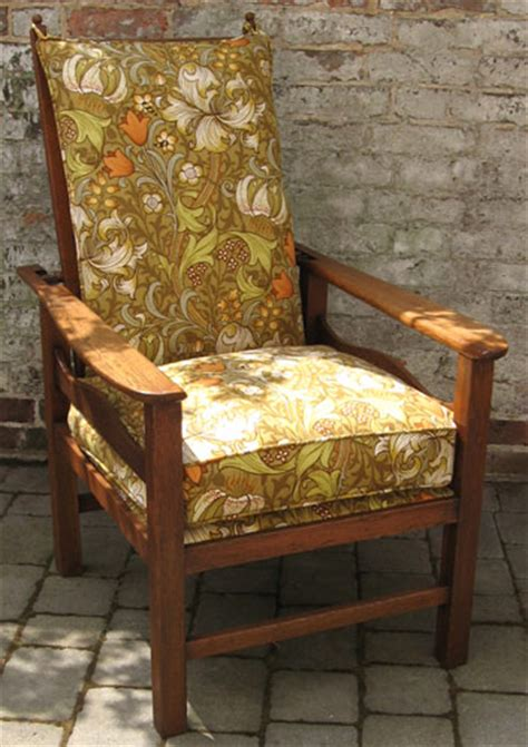 arts and crafts reclining chair designed by ambrose heal