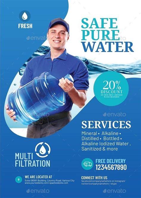 water refilling station flyer refilling water flyer