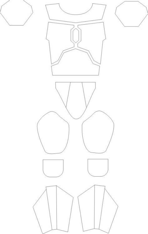 mandalorian armor template armor templates foam