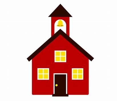 Schoolhouse Clipart Icon Clip Building Icons Vector