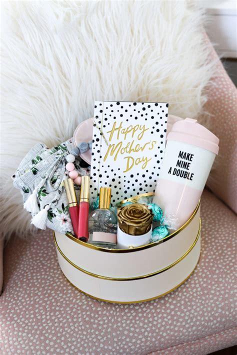 diy gift basket  mothers day gift idea   moms