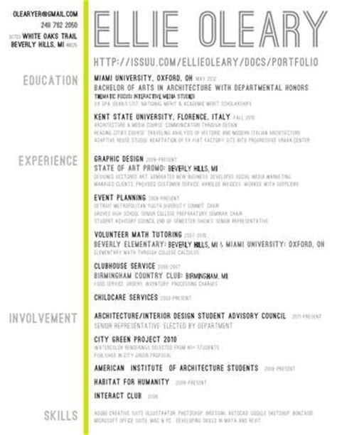Architecture Resume Exlearchitecture Resume Exles by Architecture Student Resume Related