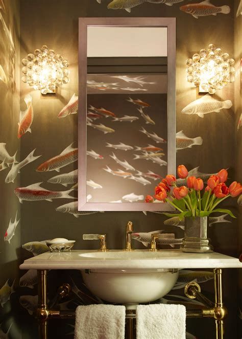 Bathroom Wallpaper by Photos Hgtv