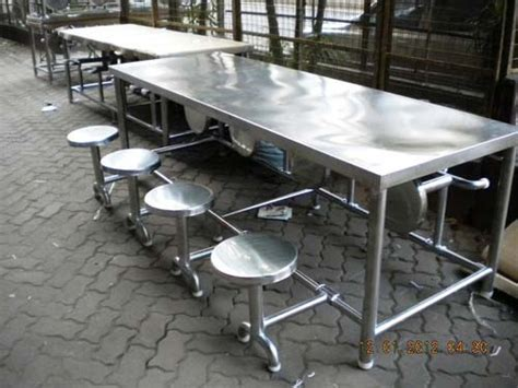 australia small folding table steel canteen table manufacturer in maharashtra india by