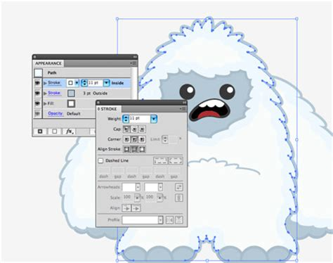 how to add character to the outside of your home how to create a cool vector yeti character in illustrator