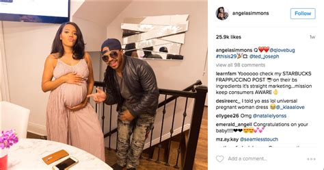 It's A Boy! Angela Simmons 1st Baby Pic