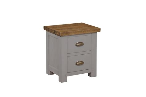 Gresford Grey 2 Drawer Bedside Table White Washed Wood Chest Of Drawers Drawer Basket Storage Unit How Do You Count Cash 36 Inch Bathroom Vanity On Left Huge Tv Bench With Besta Instructions Oak To Put Bras In