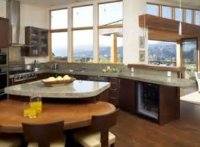 pictures of kitchen islands with seating how to choose seating for your kitchen island freshome com