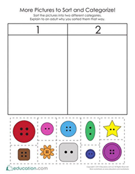pictures  sort  categorize tutoring